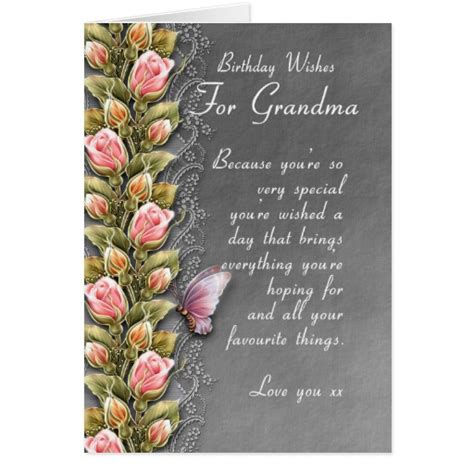 Grandmother Birthday Card Sayings 90th Birthday Quotes For Grandmother Quotesgram