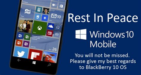 mobile os microsoft s windows 10 mobile os beyond support