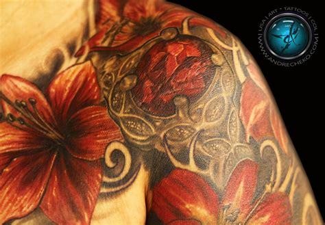 exotic flower tattoos top flower tattoos images for tattoos