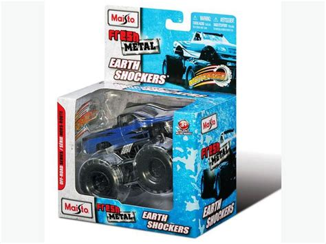 brand new maisto motorized fresh metal earth shockers blue