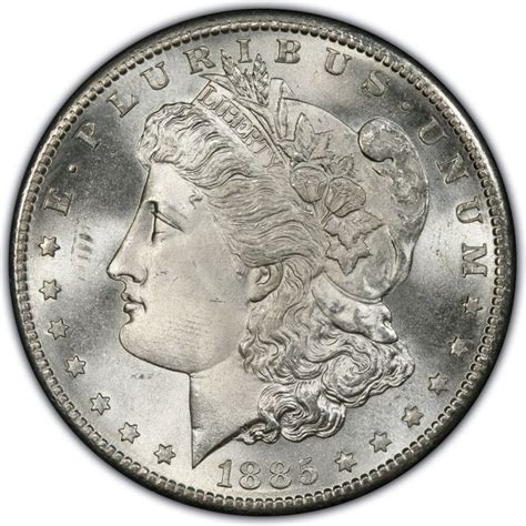 1885 morgan silver dollar values and prices past sales