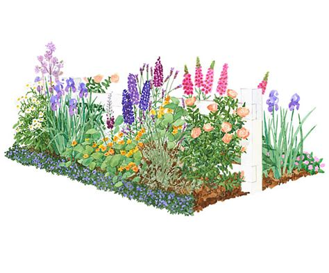 cottage garden plans free colorful front yard cottage garden plan