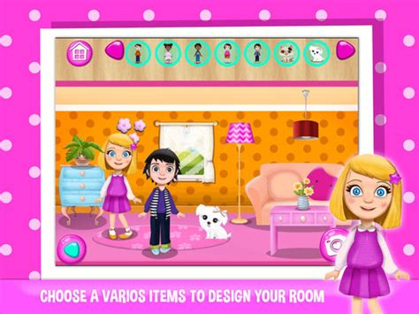 doll house games for girl doll house games for girls design your play home on the app store