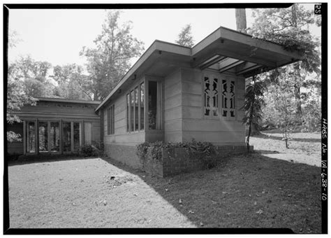 Hollyhock House Plan world architecture images usonian