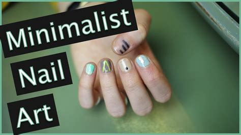 super easy nail art youtube super easy trendy minimalist nail art 5 designs youtube