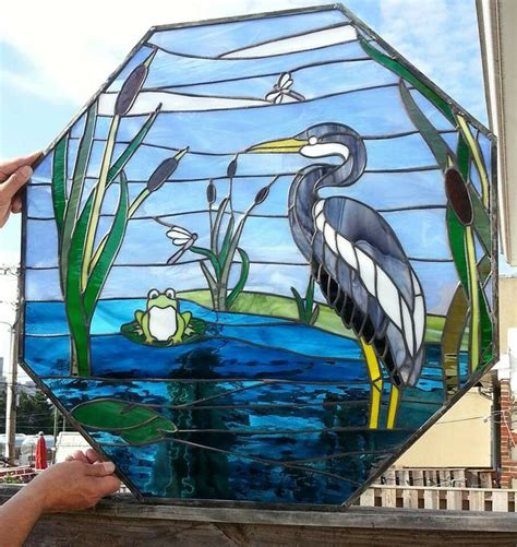 stained glass pattern blue heron 17 best images about stained glass birds on pinterest