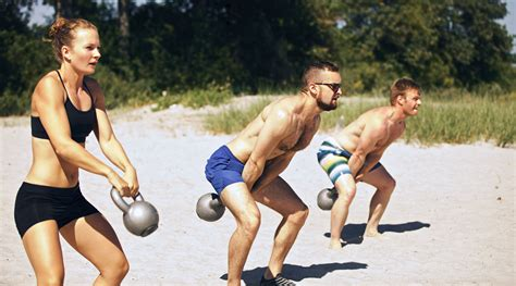 kettlebell swing tabata beach fitness crossfit fornix adelaide
