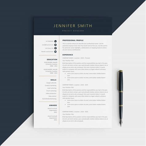 Modern Resume Templates by Modern Resume Templates 18 Exles A Complete Guide