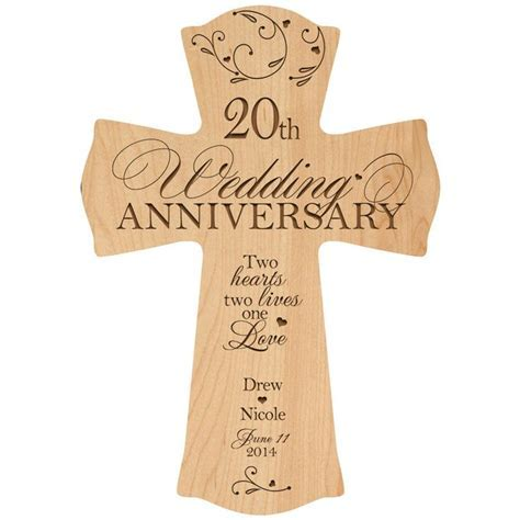 Personalized 20th Wedding Anniversary, 20th Anniversary
