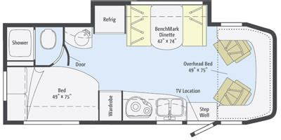 winnebago view floor plans 2014 winnebago view series m 24j mercedes sprinter turbo
