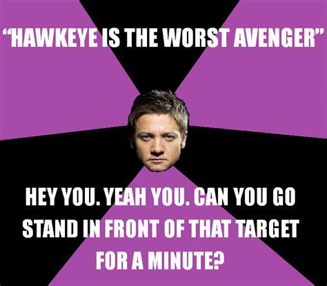 Hawkeye Meme - hawkeye meme by nevillelongbottom26 on deviantart