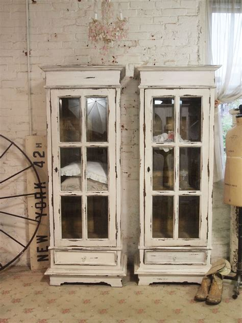 shabby chic cabinet painted cottage chic shabby chateau farmhouse linen