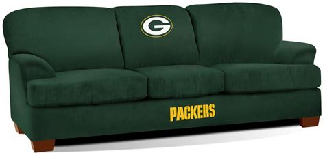 green bay packers couch green bay packers first team microfiber sofa