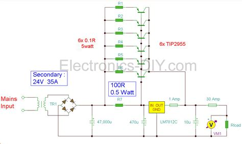 high c supply 12v power supply 30a electr 243 nica pinterest