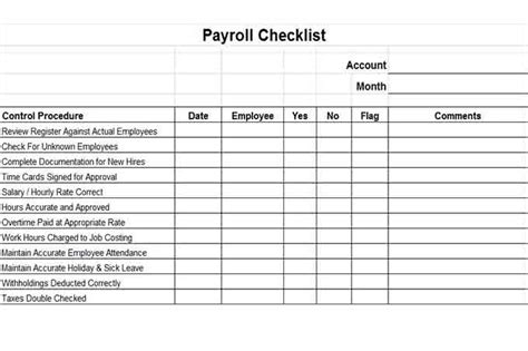 payroll check template excel payroll controls and procedures vitalics