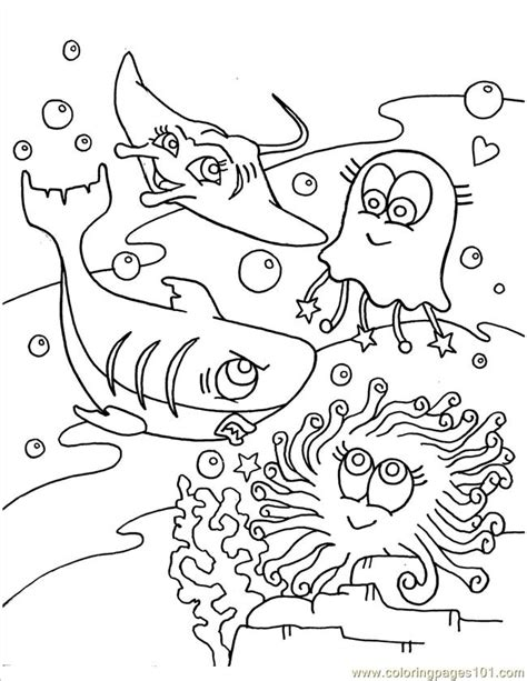 coloring pages sea animal natural world gt seas and oceans