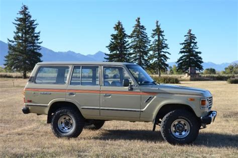 old gas ls for sale 1983 toyota fj60 ls v8 fuel injected for sale toyota