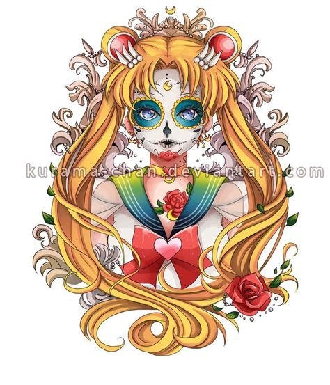 sailor moon tattoo designs sailor moon commission by kurama chan on