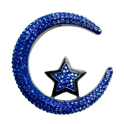 pin by crystal wilson on 48 men with facial hair and ones butler and wilson crescent moon and star crystal brooch blue