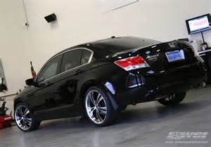 2010 honda accord with 20 quot 2crave n02 in black machined