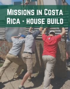 costa rica house build joshua expeditions idolza college