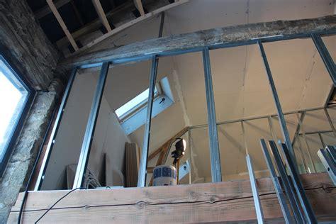 cloison vitrée cuisine 2974 gracieux monter une cloison en placo renaa conception