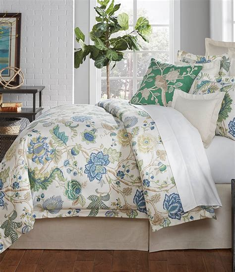 noble excellence down comforter villa by noble excellence olivia floral cotton linen