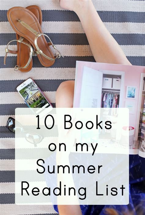my summer in books 10 books on my summer reading list everyday reading