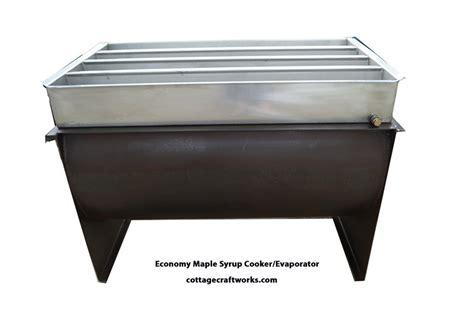 backyard maple syrup evaporator hobby wood fired basic maple syrup cooker evaporator