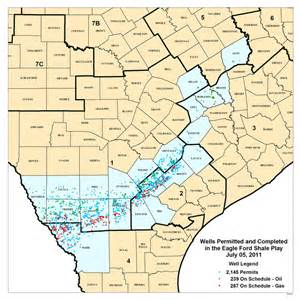 the eagle ford shale formation south map and info