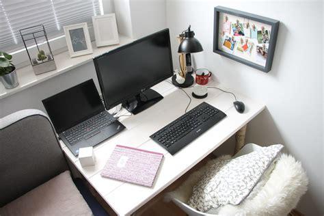 arbeitsplatz im schlafzimmer scandi schreibtisch selber bauen anleitung f 252 r einen