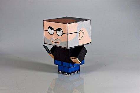 Make Your Own Papercraft - make your own steve cubee papercraft model gadgetsin