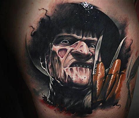 freddy krueger tattoo designs portrait of freddy krueger by benjamin laukis no 293
