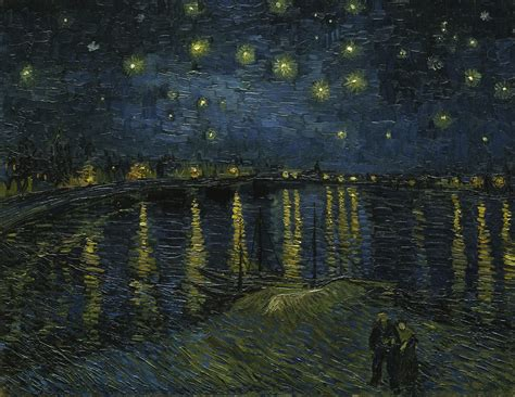 Starry L by Gogh Starry