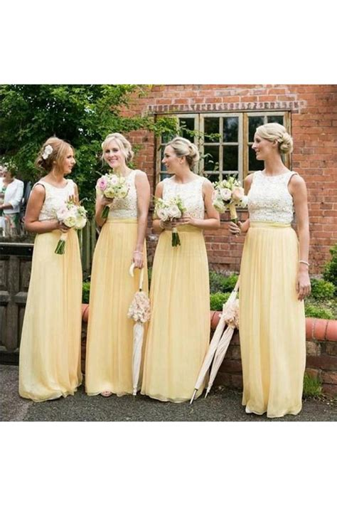 Yellow Weddingprewed Dress yellow white lace wedding guest dresses bridesmaid