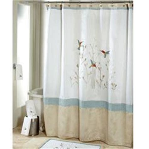 hummingbird shower curtains com colibri fabric shower curtain hummingbirds