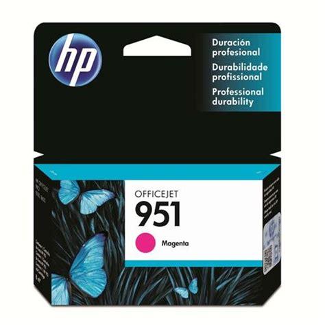 Tinta Hp 951 Xl Magenta cartucho de tinta hp officejet 951 cn051al magenta cartuchos no casasbahia br