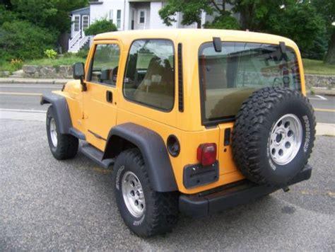 Used 1998 Jeep Wrangler Sell Used 1998 Jeep Wrangler Se Sport Utility 2 Door 2 5l