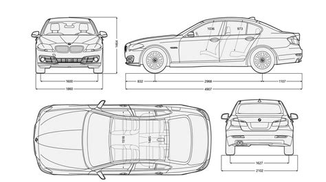 3 Car Garage Dimensions by Bmw 5 Series Sizes And Dimensions Guide Carwow