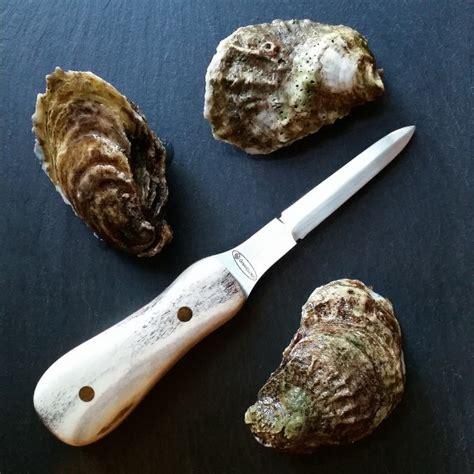 Handmade Oyster Knives - handmade elk oyster knife eatingtools