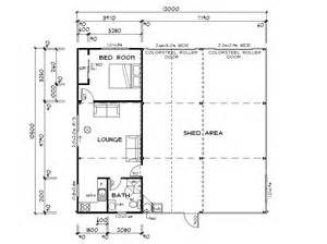 Floor Plans For Sheds Habitable Sheds Sheds You Can Live In Architectural Design
