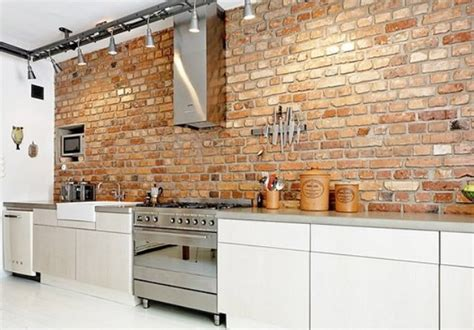 brick kitchen walls 20 modern exposed brick wall kitchen interior designs