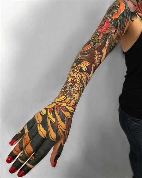 tattoo ideas japanese sleeve japanese style floral sleeve best design ideas