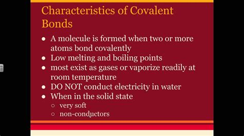 experiment 4 ionic and covalent properties pdf