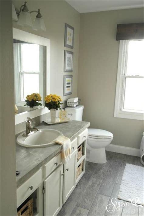 beautiful builder grade bathroom makeover   budget