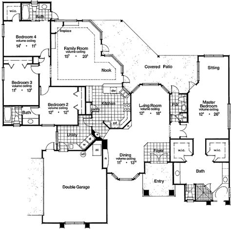 floor plans designer grand design with noble facade 63065hd 1st floor master suite cad available florida mbr