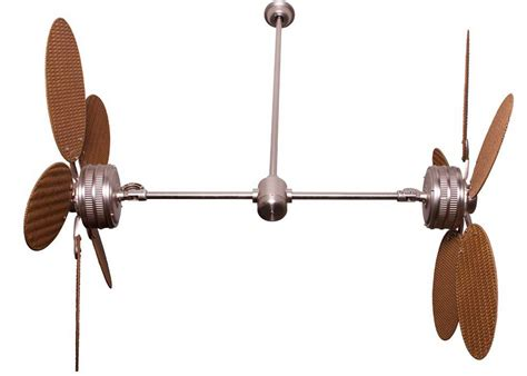 dual blade ceiling fan dual blade ceiling fan lighting and ceiling fans
