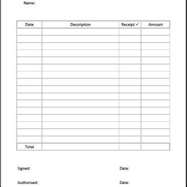 meeting expense claim form template archives excel templates