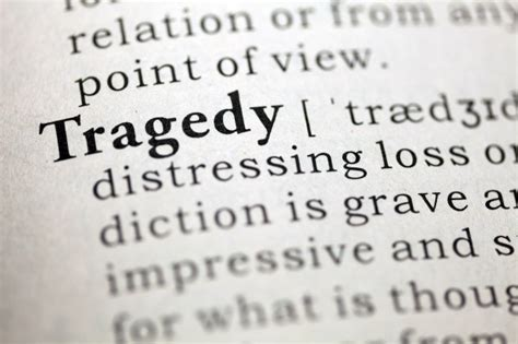 theme definition dictionary it s no tragedy that quot tragedy quot is overused