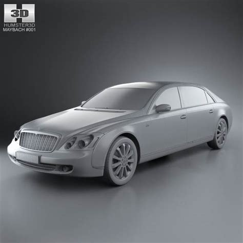how to learn about cars 2011 maybach landaulet seat position control maybach 62s 2011 3d model hum3d